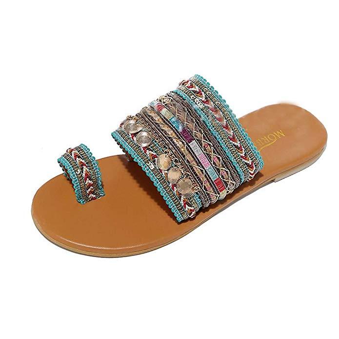 sandalias boho griego